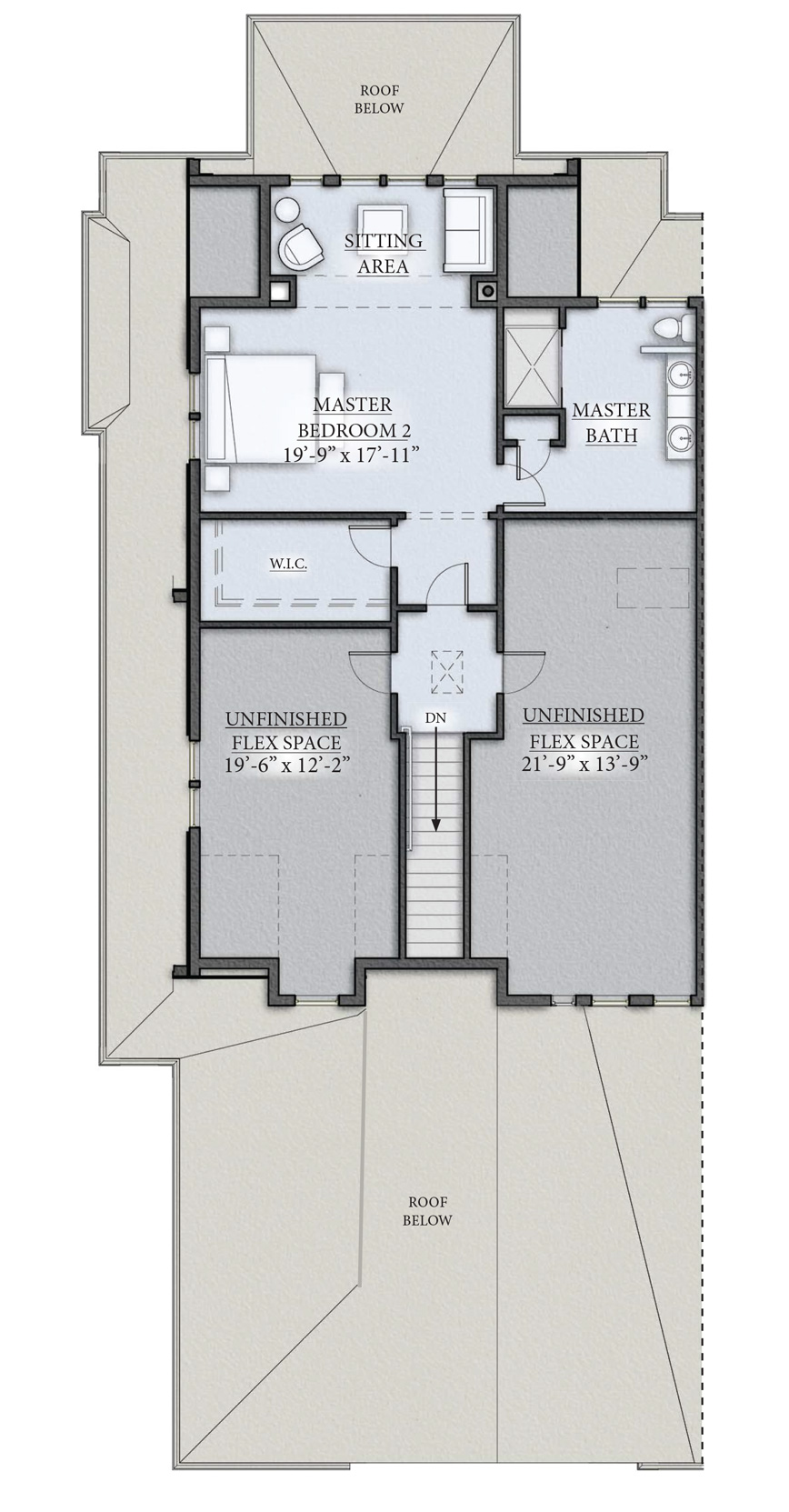 Classic Floor Plan Second Floor